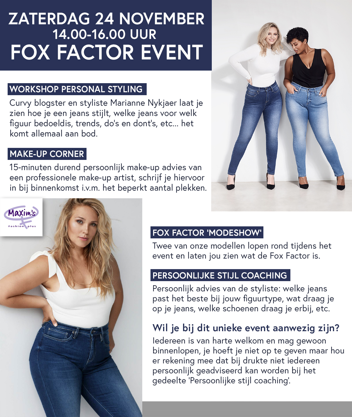 Fox Factor event bij Maxims