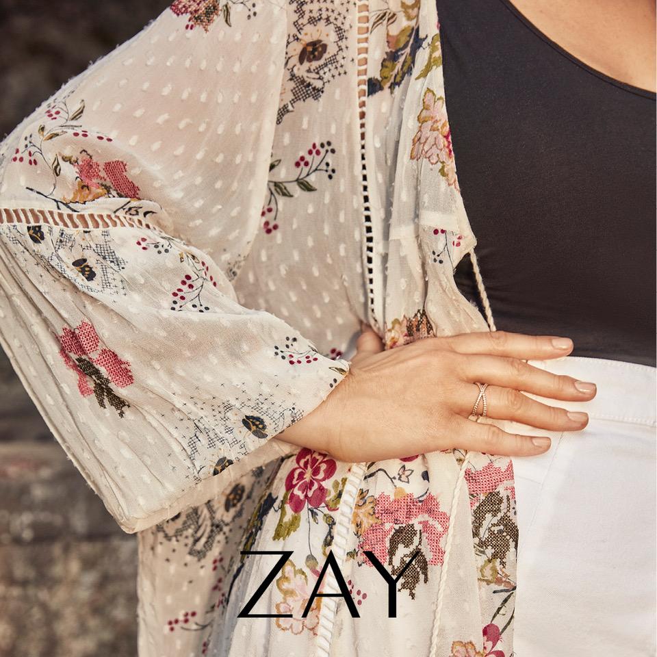 Win ZAY outfit t.w.v. € 267-nieuwe luxe collectie van Zizzi